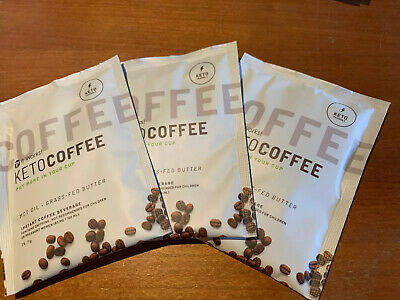 Keto Coffee It Works Mct/collagen/soy Free. 3 X Packets. Each Packet Is One Cup