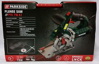 Parkside Plunge Saw Pts 710 A1 - New In Sealed Box
