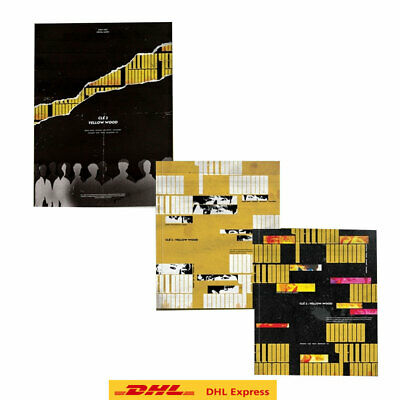 Stray Kids - Cle2 : Yellow Wood  3Album SET (Limited 1ea + Normal 2ea) + Express