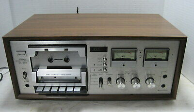 Sansui Model SC-3100 Stereo Cassette Deck==Serviced!