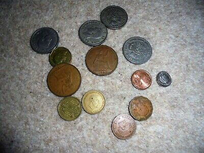Collection Pre Decimal Uk British Coins