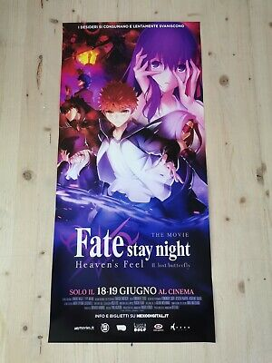 FATE STAY NIGHT II LOST BUTTERFLY Locandina Originale 33x70 Poster Film Anime