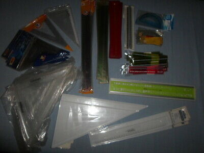 Lot 121 Regle Rapporteur Equerre Bic Rotring Staedtler Neuf