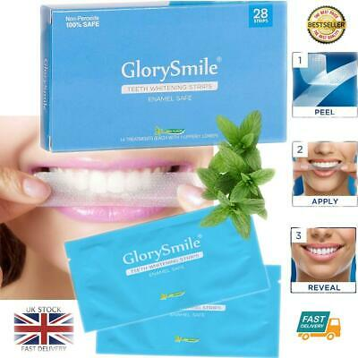 Professional Advanced Teeth Whitening Strips 28 Home Bleaching Non Peroxide