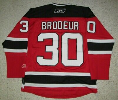 Martin Brodeur New Jersey Devils Red Home Reebok Jersey Men Small