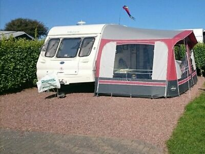 Bailey Ranger caravan 2 berth with full awning and motor Mover