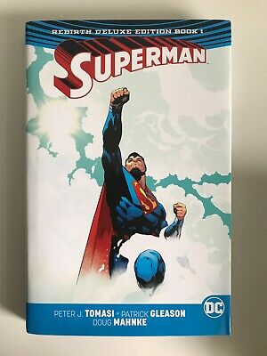 Superman Rebirth Deluxe Edition Book 1 Graphic Novel Hardback Hardcover DC 2017