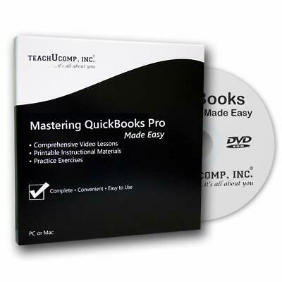 Teachucomp, Inc. Course Used For Learning Quickbooks Desktop Pro 2019 Dvd-Rom Tr