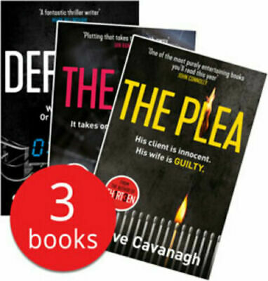 Steve Cavanagh Collection_ 3 Book Set The Liar The Plea The Defence __ Brand New
