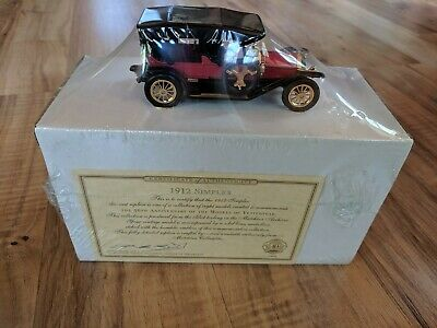 1912 Simplex Yesteryear Collection 40th Anniversary Die-Cast Car
