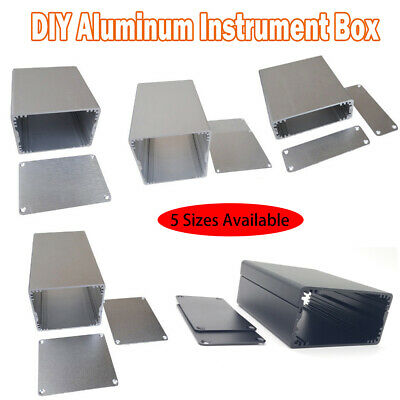 5 Kinds Aluminum Project Box Enclosure Case Electronic DIY Instrument Case New