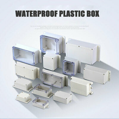 27 Size Plastic Electronics Project Box Enclosure Instrument Case DIY With Screw