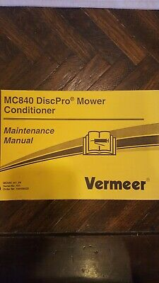 VERMEER REBEL M5030 M6030 M7030 M8030 Mower Operation