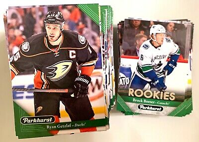 2017-2018 PARKHURST COMPLETE SET WITH W/ROOKIES (1-300) + 39 inserts