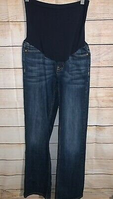 ab4a51ae98858 Pea In The Pod Vigoss Full Panel Maternity Jeans Small Size 29 Boot Cut