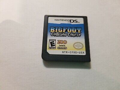 Bigfoot Collision Course Nintendo DS, game only, tested & FREE SHIPPING