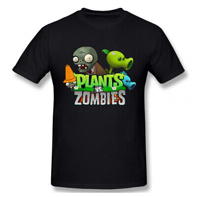 Men's Plants Vs. Zombies Logo Short Sleeve T Shirt