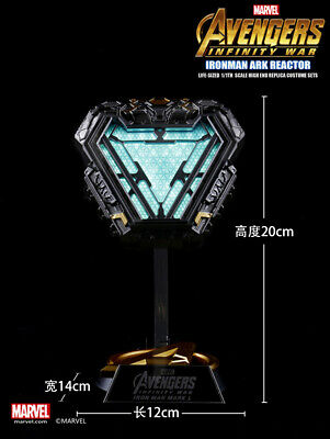 In stock Marvel Licensed Iron Man Arc Reactor MK50 Mark L 1/1 Prop Replica