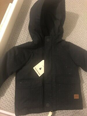 Country Road Baby Boy Jacket Parka Size 0 /  6-12 Months