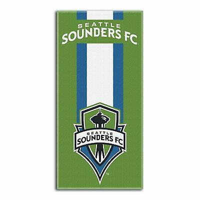Seattle Sounders FC MLS Zone Read Cotton Beach Towel 30 x 60 inches