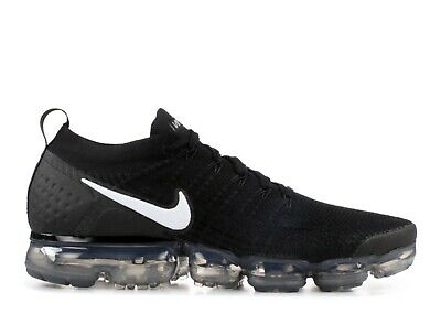 Nike Air Vapormax Flyknit 2 Black White Mens Size 14