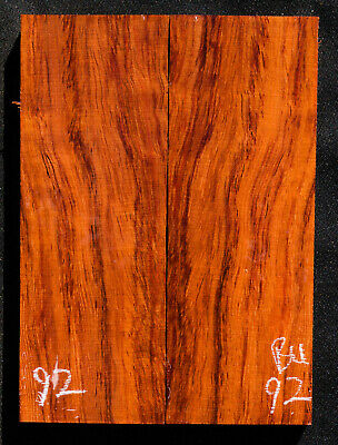 "Bubinga #92 Knife Scales 5""x 1.8""x 7/16"" see 100 species in my store"