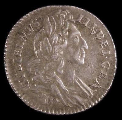 1696y William III Sixpence CGS Slabbed coin