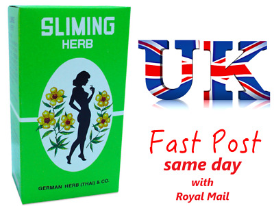 50 x SLIMING HERB GERMAN HERB - Abnehmen Fat Burner Slimming Diät Detox