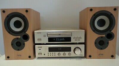 Denon DRA-F100 HiFi Component System CD+Amp Tuner Speakers & Bluetooth Adaptor