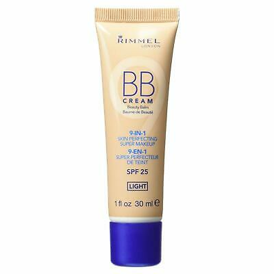 Rimmel BB Cream 9 in 1 Skin Perfecting Super Makeup 30ml  - Choose Shades