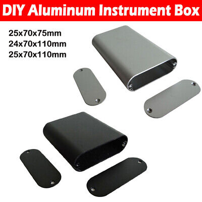 XD-59 Aluminum Instrument Box Enclosure Electronic Project Case New
