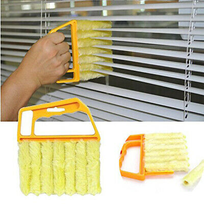 Brush Louver Window Cleaner Easy Car Clean Windshield Cleaning Product New