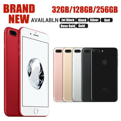 Factory Sealed &Unlocked APPLE iPhone 7 Plus 32 128 256GB All Colours US Version