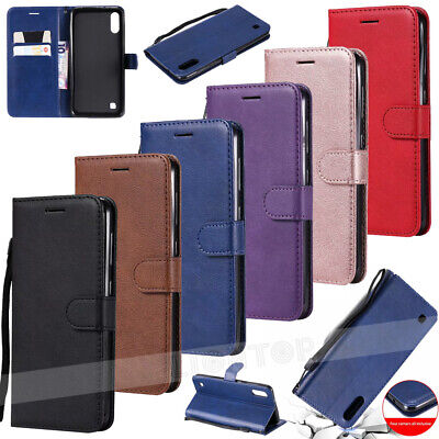 Case For Samsung Galaxy S10 A50 A40 A70 A30 Phone Leather Flip Card Wallet Cover