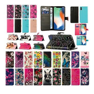 For Samsung Galaxy S10 5G & More Leather Book Wallet Phone Fone Safe Cover Case