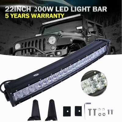 12D 22 inch 1280W LED Work Curved Light Bar Spot Flood Driving Offroad FOR FORD
