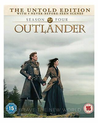 Outlander Complete DVD Boxset New&Sealed UK compatible in Season 4