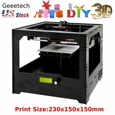 GEEETECH DUPLICATOR5 UPGRADED DIY 3D printer kit Dual Extruder multi