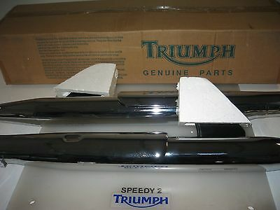Triumph America Speedmaster Efi Not For Road Tor Short Exhausts Tapered A9608103