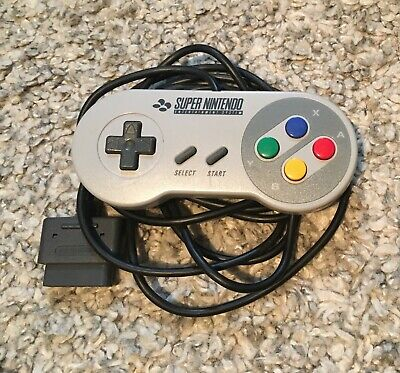 Original SNES Super Nintendo Entertainment System Controller Kontroller Gamepad