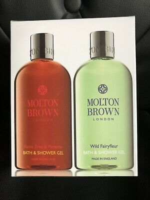 Molton Brown Boxed Set Of Two Bath/shower 300ml