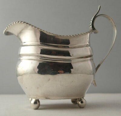 George III Solid Silver Milk Jug - 133g - London 1815.