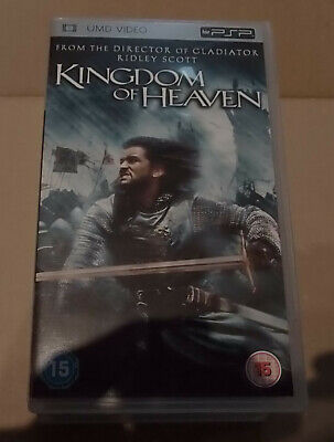 Kingdom of Heaven  (very good)  Sony PSP UMD Video Movie