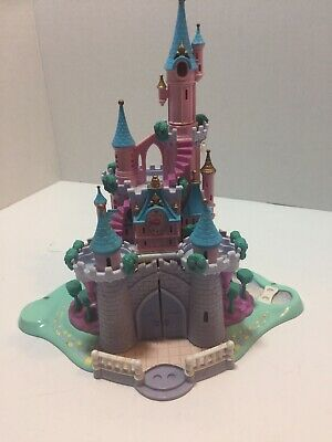 Vintage 1995 Polly Pocket Bluebird Disney Cinderella Enchanted Castle Playset