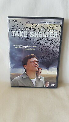 TAKE SHELTER rare dvd  MICHAEL SHANNON Jessica Chastain ~ Out of Print