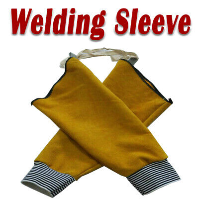 Welding Apron Welder Protection Hood Hand Sleeves  Cover Equipment New