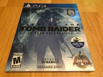 Rise of the Tomb Raider 20 Year Celebration PS4 NEW