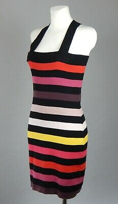 2c6269c677 Sonia Rykiel pour H&M pima cotton multi-coloured striped knitted short dress  M