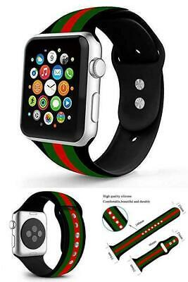 for Apple Watch Band Gucci Iwatch Silicone 42mm 44mm Series 2 3 4