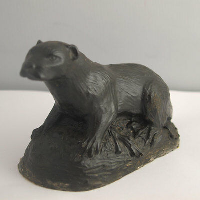 Charming Cold Cast Otter Figurine